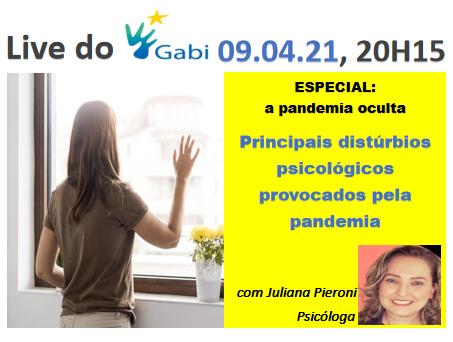 Distúrbios psicológicos da pandemia